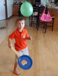 The biggest request I get through emails and messages is for MORE Angry Birds ideas for parties.Who knew some naughty pigs andsoaringcolored birdscould be come SO popular! Since I am normally looking for ways to entertain a 4 year-old while his brothers are at school, I made him this Angry Birds paddle ball/balloon game. Items …