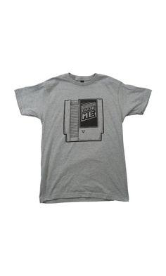 Retro Video Game Cartridge Dark Heather Gray 2XL Short Sleeve T-Shirt Blow Me