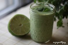 Cilantro Lime Dressing   Food   Pinterest   Cilantro, Limes and ...