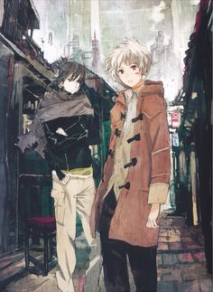 Shion & Nezumi from No.6- I just re-watched this anime and it still got me…