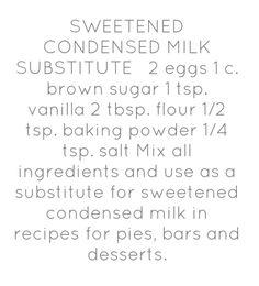 Homemade (Milk Free) Sweetened Condensed Milk Substitute