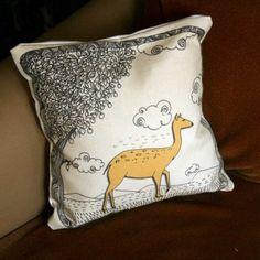 12x12 cushion cover. $21