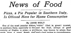 1944: The NYT discovers pizza http://nyti.ms/1aOeqN7