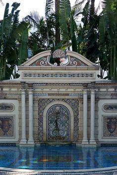 THE VILLA MIAMI BEACH - Twenty-four-karat gold tiles line the property's Thousand Mosaic Pool. #Jetsetter