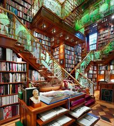 #12. Create a magical book lover's paradise.
