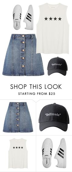 """Sin título #576"" by mary-nava ❤ liked on Polyvore featuring Anita & Green and adidas"