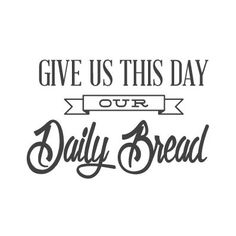 Our blessings come in many shapes and sizes, but our daily bread is thrice a day. Celebrate this blessing with this wall quote decal in your kitchen or dining room. Feature Wallpaper, Perfect Wallpaper, Kitchen Vinyl, Kitchen Prints, Kitchen Quotes, Diy Cutting Board, Our Daily Bread, Walk By Faith, Religious Quotes
