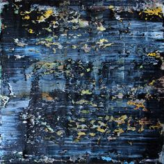 abstract N° 1327 [The Black Forest], Oil painting by Koen Lybaert | Artfinder