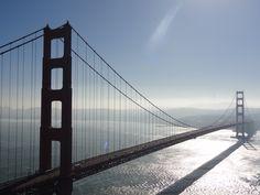 U.S.A - CALIFORNIE - San Francisco bridge San Francisco Bridge, Golden Gate Bridge, Travel, Voyage, Viajes, Traveling, Trips, Tourism