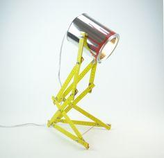 Fabulous up cycled lighting created by Tu m'etonnes Simone Desk Lamp, Table Lamp, Upcycle, The Creator, Designers, Lighting, Handmade, Home Decor, Lamp Table