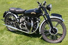 1955 Vincent Black Shadow 1000cc 50 degree OHV V-Twin at 55Bhp  Series C engine.