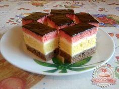 Hungarian Desserts, Hungarian Recipes, Sweet Cookies, Cake Cookies, Cookie Recipes, Dessert Recipes, Cake Bars, Cupcakes, Sweet Recipes