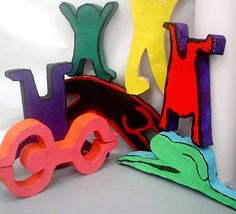 Lessons from the K-12 Art Room: Keith Haring Sculptures