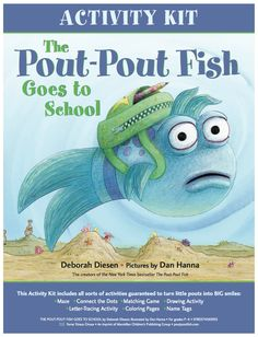 Download an activity kit for THE POUT-POUT FISH GOES TO SCHOOL