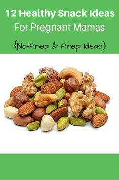 Great list of healthy pregnancy snacks that are no prep and also some you can make at home that are easy and look so good. http://michellemariefit.com/10-healthy-snacks-pregnant-mamas/