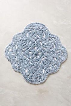 Anthropologie Mosaic Tile Bathmat #anthrofave