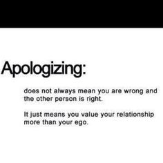 So true! That is why I'm always apologizing. I wish others would feel the same :(