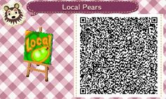 "Tumblr Link to QR codes for ""Local Fruit"" signs so people visiting know what your local fruit is. Mine is oranges. :)"