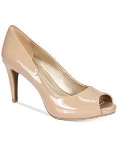 Image 1 of Bandolino Rainaa Peep-Toe Pumps