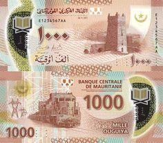 Mauritania 1000 Ouguiya 2017