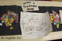 make a treasure map
