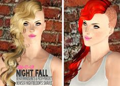 My Sims 3 Blog: Newsea Nightbloom Shaved by Sim it Up