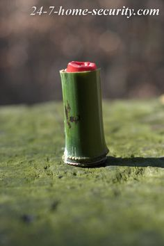 This is a replica Viet Cong cartridge trap (or mine) using a single shotgun shell.  Easy and cheap to make and devastating to somebody's foot!