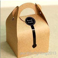Edredón mayorista Set - Comprar al por mayor de papel Kraft de DIY manejado Cajas torta y regalo de embalaje para la boda, del partido del festival, 10 * 10 * 14.5cm, $ 1.2 | DHgate