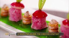 Le radis pain beurre par Christian Constant