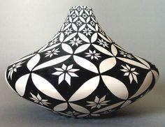 black and white - ceramic - Dorothy Torivio