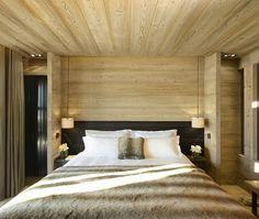 Alpaga hotel and lodge near the famous ski-resort town of Megève, France.