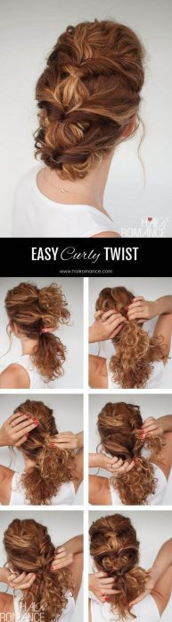 9 Easy The Go Hairstyles For Naturally Curly Hair