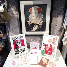 We've got this ladies, In celebration of International Woman's Day we're showcasing some of the art work featuring some of our favourite iconic ladies.