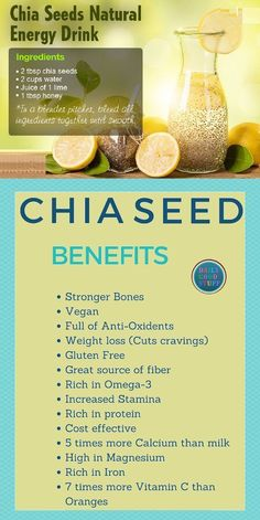Chia Seeds Provide Health And Weight Loss Benefits. chia seeds weight loss plans… – Detox Cleanse For Weight Loss Weight Loss Meals, Weight Loss Drinks, Weight Loss Smoothies, Easy Weight Loss, Lose Weight, Chia Seed Recipes For Weight Loss, Lose Fat, Water Weight, Natural Energy Drinks
