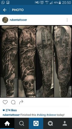 Viking sleeve