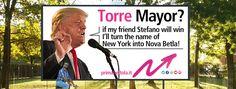 donald trump:: quando Torre sarà sindaco di Bettola cambierò nome a New York