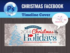 Christmas Facebook Cover — Photoshop PSD #Christmas Celebration #holiday • Available here → https://graphicriver.net/item/christmas-facebook-cover/9723804?ref=pxcr