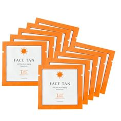 Tantowel NEW 10 Face Towelettes - glow ahead and heat things up!