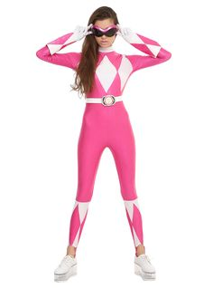 Mighty Morphin Power Rangers Pink Ranger Costume,