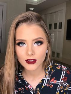 Outstanding Cute makeup tips are available on our site. look at this and you wont be sorry you did. Glam Makeup, Full Makeup, Hair Makeup, Makeup Quiz, Make Up Looks, Gorgeous Makeup, Love Makeup, Beauty Make-up, Hair Beauty