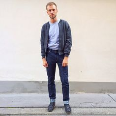 American apparel · Markus from  americanapparelaustria in the classic Power  Washed Tee, Wool Club Jacket and new 8653972e4044