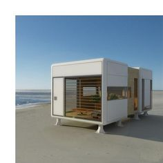 small beach house portable