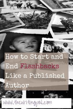 How to Start and End Flashbacks Like a Published Author ~ The Writing Pal Creative Writing Tips, Book Writing Tips, Writing Workshop, Writing Process, Writing Resources, Writing Help, Writing Skills, Writing Ideas, Writing Guide