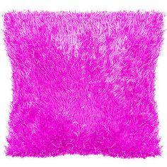 your zone eyelash toss-it pillow