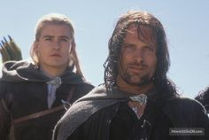 The Lord of the Rings: The Two Towers - Publicity still of Orlando Bloom & Viggo Mortensen Legolas And Aragorn, Thranduil, Tolkien, Captain Underpants Series, Film 1990, Saga, Emma Kenney, Billy Madison, The Devil's Advocate