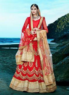 Ethnic wear Lehenga Wedding Traditional Choli Indian Bollywood Pakistani Bridal…
