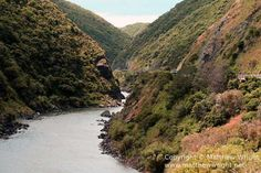I thought I'd share some pictures I took a few years back of one of New Zealand's most spectacular pieces of scenery, the Manawatu Gorge. It's one of my favourite stretches of roa… New Zealand Landscape, Some Pictures, Dream Vacations, Science Nature, Alaska, Landscapes, Scenery, Island, News