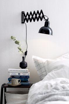 Suunnattava seinävalaisin – hyvä valinta makuuhuoneeseen