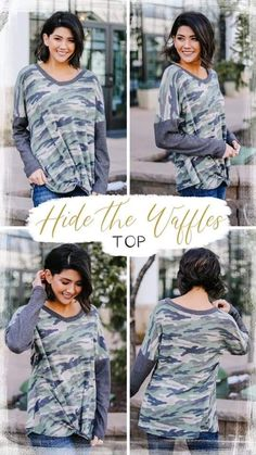 Hide the waffles Trendy Online Boutiques, Circular Pattern, White T, Clothing Items, Summer Days, Best Sellers, Trendy Fashion, Elastic Waist, Waffles