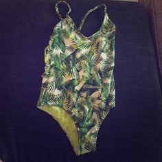 Forever 21 One Piece Swimsuit Tags still attached; never been worn!!! Forever 21 Swim One Pieces